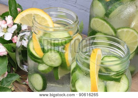 Served Naturally Flavored Cucumber Water