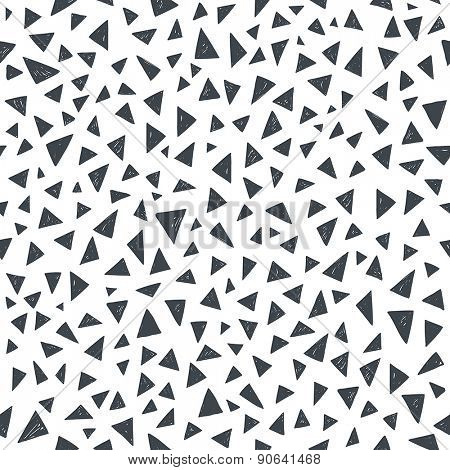 vector seamless pattern.funky geometrical seamless pattern