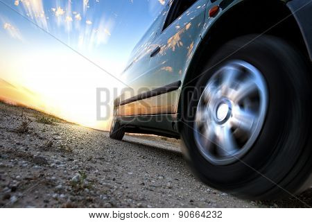 Car and speed