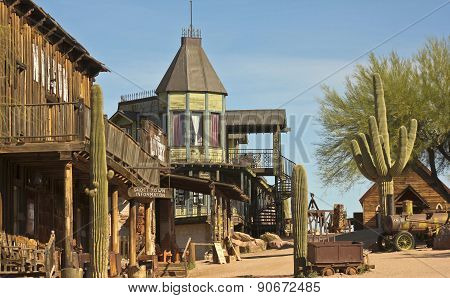 A Look At Goldfield Ghost Town, Arizona