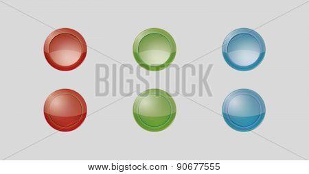 Six Gray Badges
