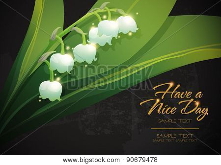 blossom tropical flower background 03