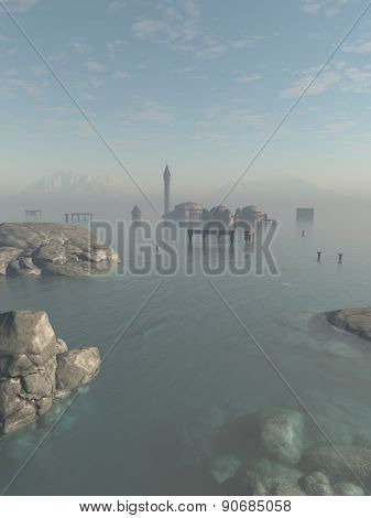 Drowned City Ruins of Atlantis