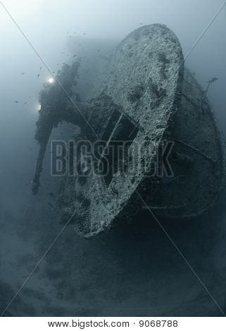 Stern Of The Ss Thistlegorm