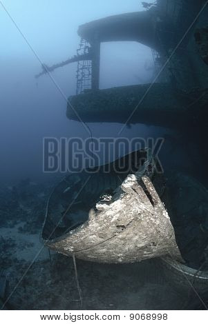 Lifeboats Resting On The Seabed
