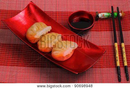 Steamed Shrimp Dumplings