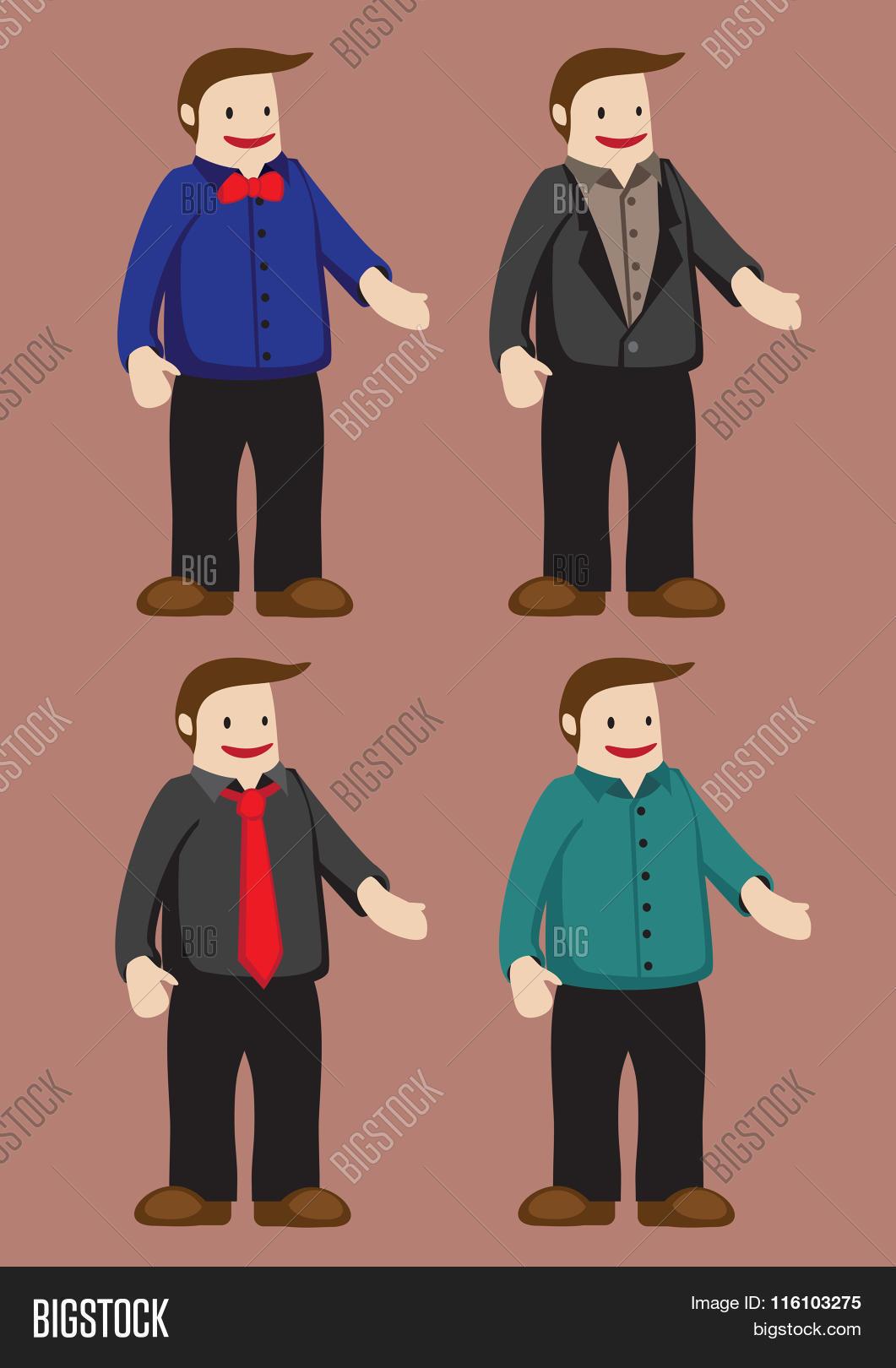 739618bf Funny Cartoon Man Men Vector & Photo (Free Trial)   Bigstock