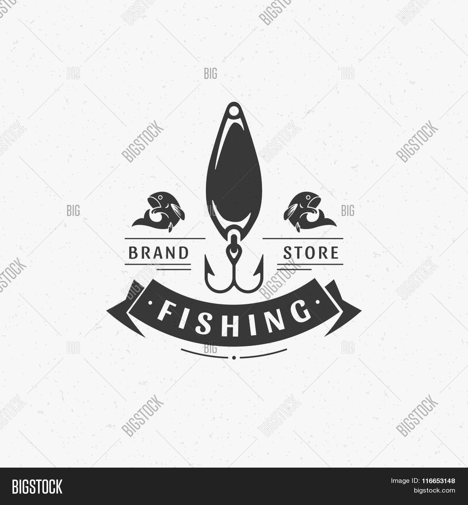 fishing club logo vector amp photo free trial bigstock
