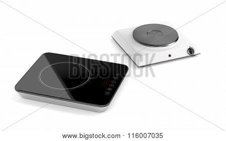 Hot Plate And Induction Cooktop