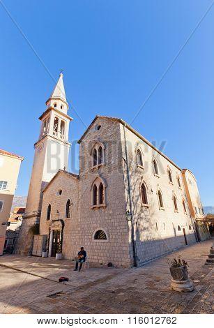 Church Of St John The Baptist In Budva, Montenegro