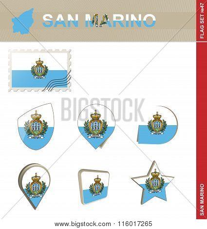 San Marino Flag Set, Flag Set #47
