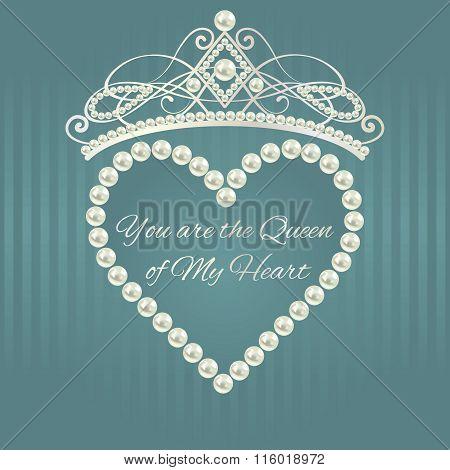 Love valentine card.