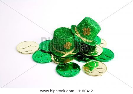 Pattys Day Hearts And Coins