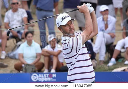 Cabera Bello At The Golf French Open 2015