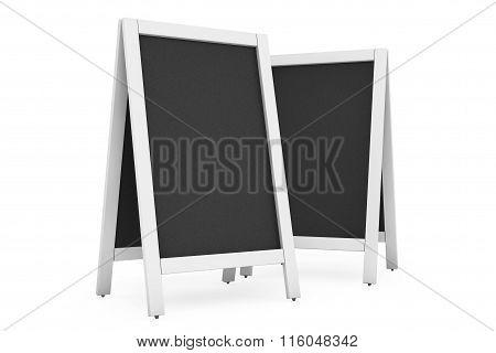 Blank Menu Blackboards Outdoor Display