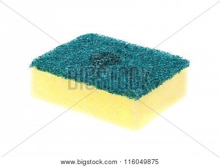 Scouring Pads On White