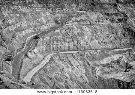 Copper Mine - Open Pit