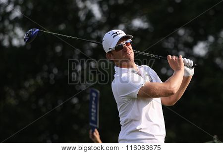 Magnus Carlsson At The Golf French Open 2015
