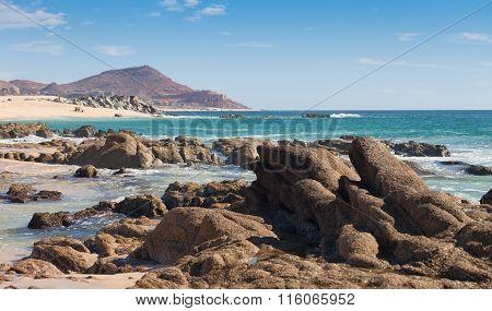 Beach In Cabo San Lucas, Mexico