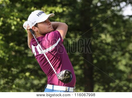 Tyrrell Hatton At The Golf French Open 2015