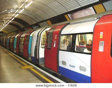 Underground Tube Train