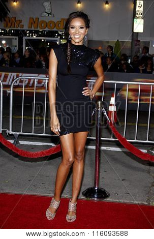 WESTWOOD, CALIFORNIA - October 26, 2010. Elizabeth Mathis at the Los Angeles premiere of