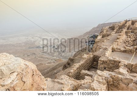 Masada National Park - Ruins Of Famous Israeli Fortress