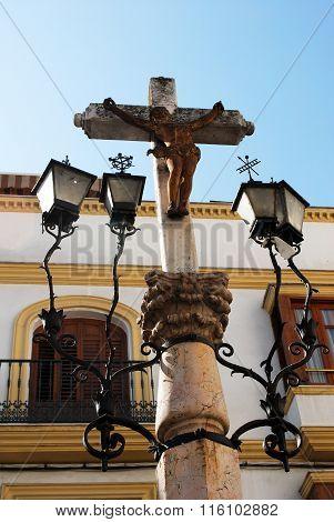 Stone Crucifix, Aguilar de la Frontera.