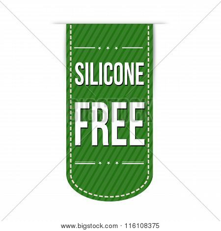 Silicone Free Banner Design