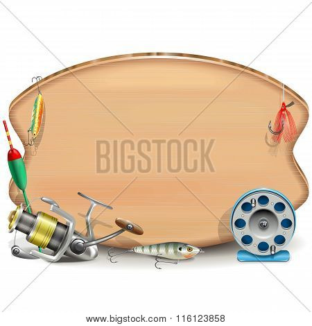 Vector Fishing Board