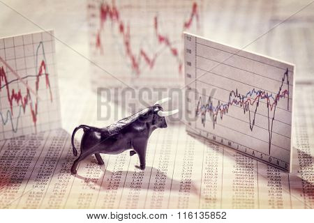 Rising Prices On The Stock Exchange