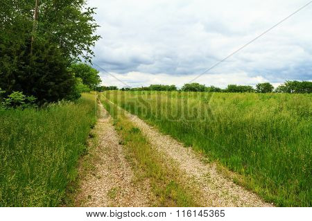 Country Gravel Road