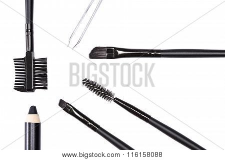 Accessories For Care Of The Eyebrows