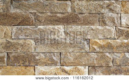 Rough Marble Brick Wall