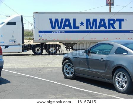 Wal-mart Delivery Truck
