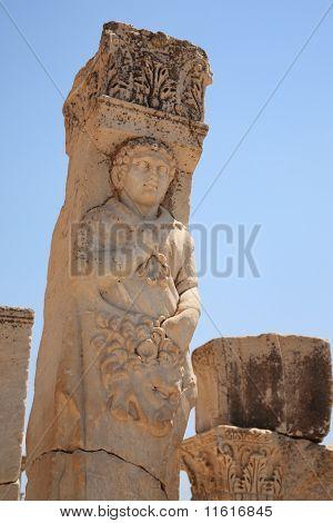 Historical Statue At Ephesus