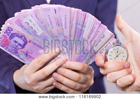 Fun of money  and Watch