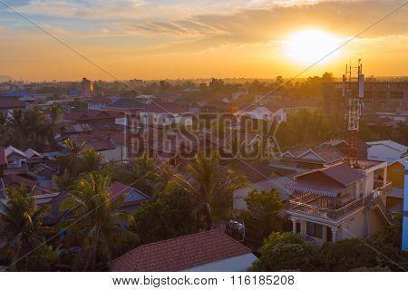 Muslim District Of Siem Reap City, Cambodia