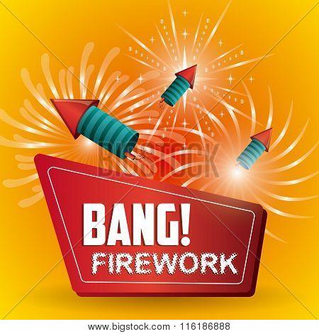 Firework icon design