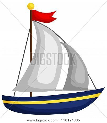 Cute Little Sailboat