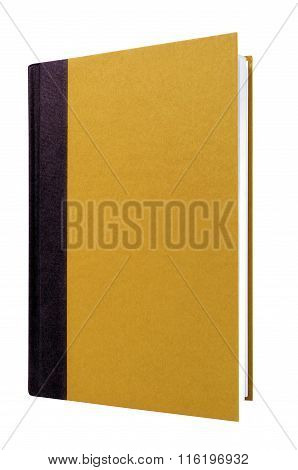 Manila School Textbook Book Front Cover Upright Vertical Isolated On White