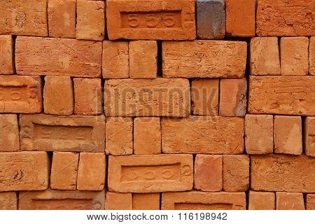 Red Bricks - Closeup