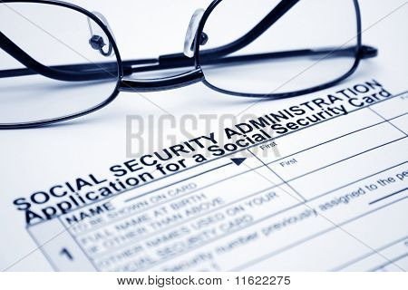 Solicitud de tarjeta de seguro social