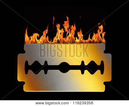 Hot Razor Blade