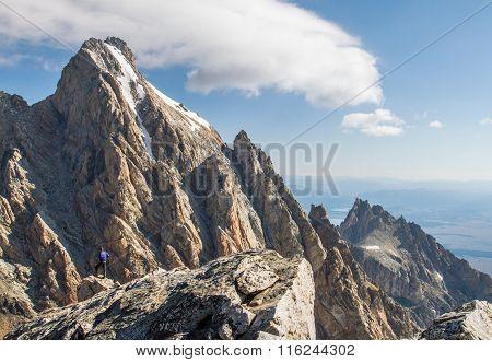 Teton Climber