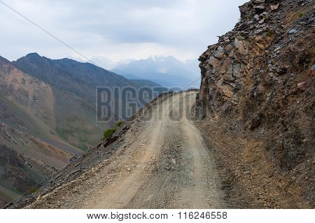 Dangerous Mountain Road