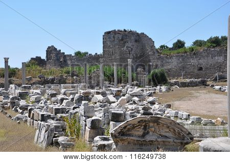 The Ruins Of The Thermae