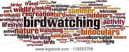Birdwatching Word Cloud