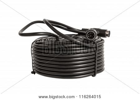 Electronic Collection - Coaxial Cables With Ps2 Connectors For Security Cameras (cctv)