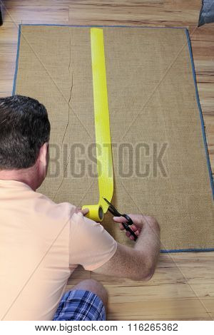 Installing Anti Slip Rug Tape
